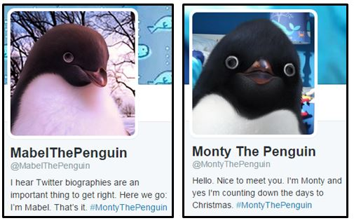 john lewis christmas penguins