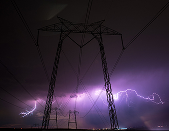 purple-lightening-power-lines