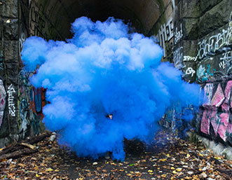 blue-smoke-graffiti-tunnel
