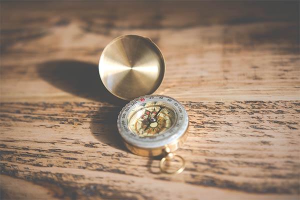 brass-compass