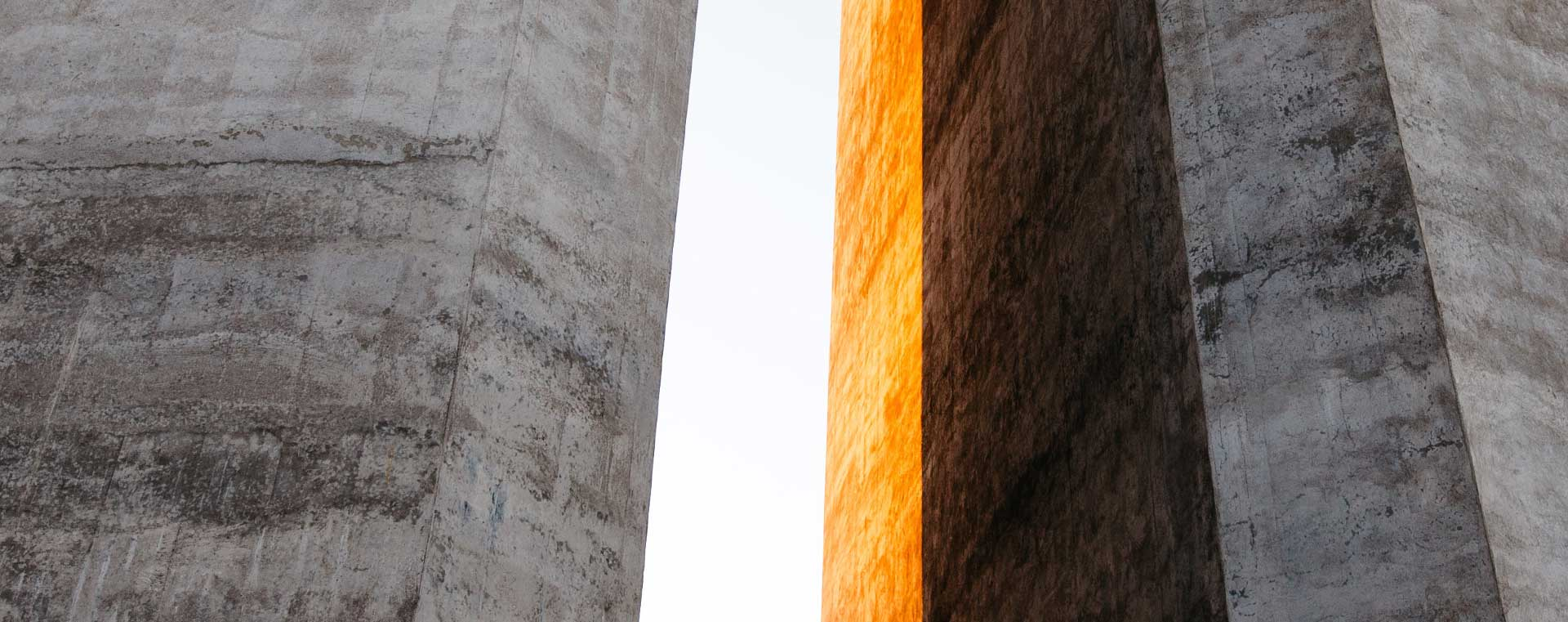 concrete-grey-orange-towers