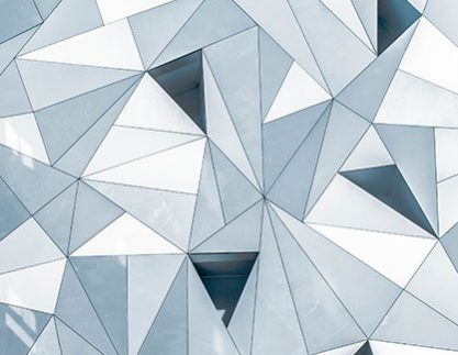 grey-triangle-pattern-on-building