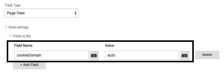 Set cookie domain to auto in Google Tag Manager by adding a new field under 'more settings'.