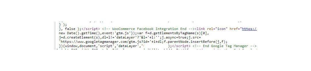 A screenshot of some Javascript